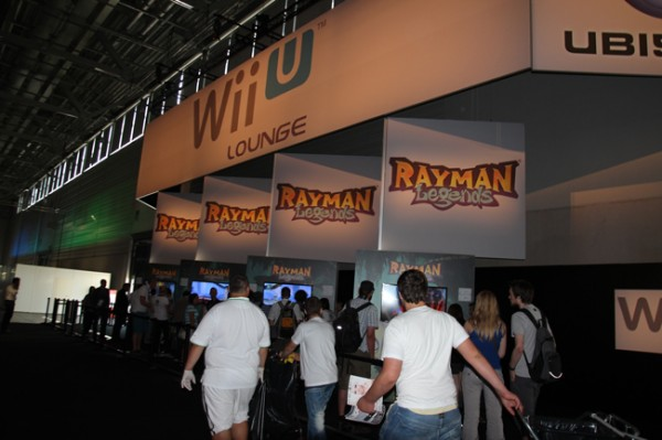 Rayman Legends Stand Ubisoft Gamescom 2012