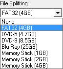 mkv2vob file splitting