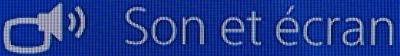 Paramètres PS4 Son et écran