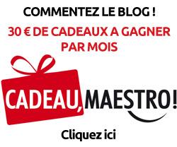 Gagne 30 € en commentant le blog !