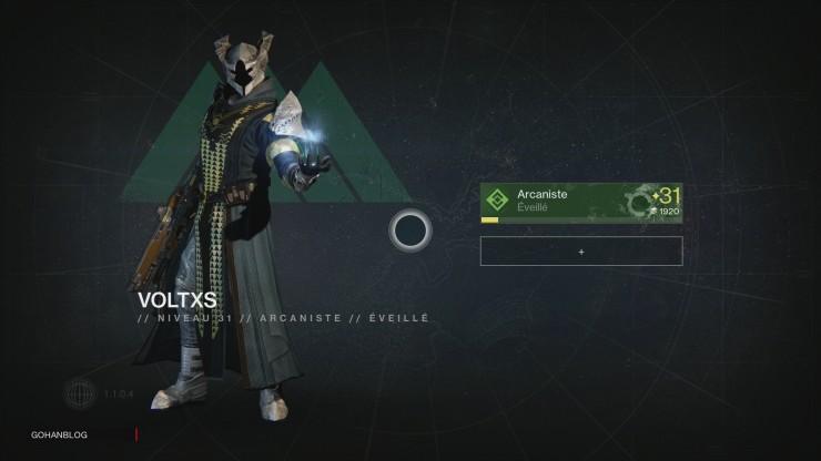 Destiny Arcaniste 31