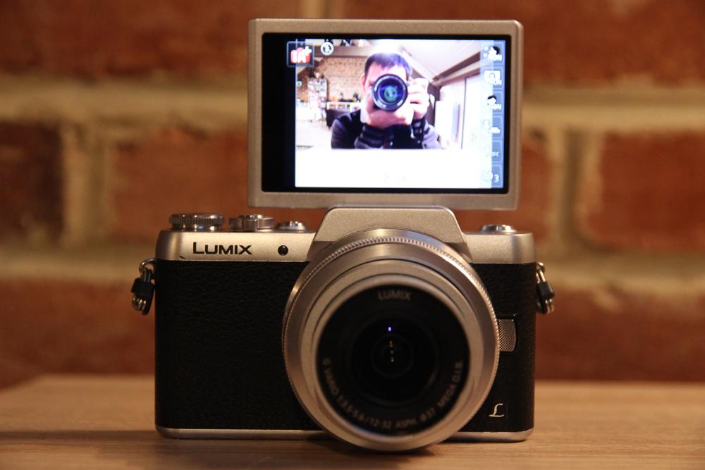 mon avis sur l 39 appareil photo hybride panasonic lumix gf7. Black Bedroom Furniture Sets. Home Design Ideas
