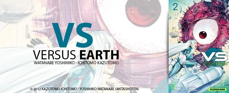avis manga versus earth tome 2