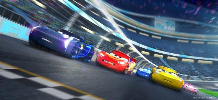 test Cars 3 Course vers la victoire